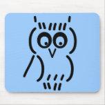 ASCII Owl Mousepad