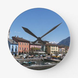 Ascona Switzerland Round Clock
