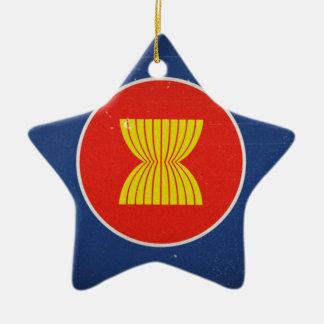 asean ceramic star ornament