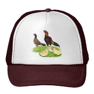 Aseel Wheaten Chicken Family Trucker Hat