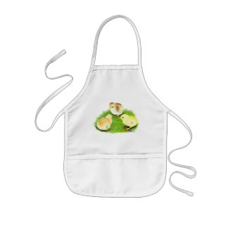 Aseel Wheaten Chicks Kids Apron