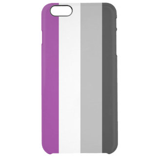 Asexual Clear iPhone 6 Plus Case