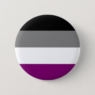 Asexual Flag 2 Inch Round Button