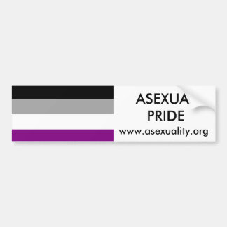 Asexual Pride Bumper Sticker 2