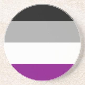Asexual Pride Flag Coaster