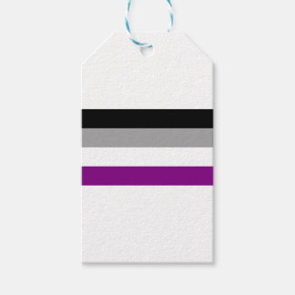 Asexual Pride Flag Gift Tags