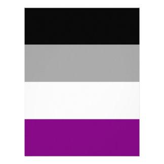 Asexual Pride Flag Letterhead