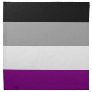 Asexual Pride Flag Napkin