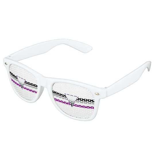 Asexual Pride Flag Party Shades