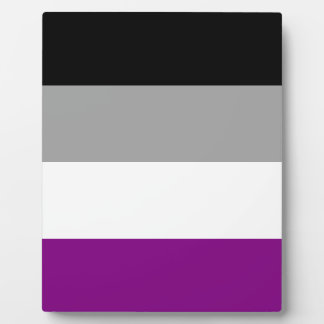 Asexual Pride Flag Plaque
