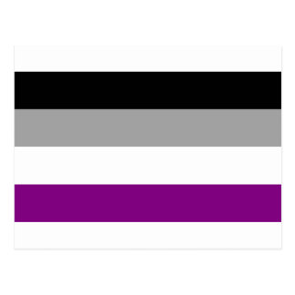 Asexual Pride Flag Postcard