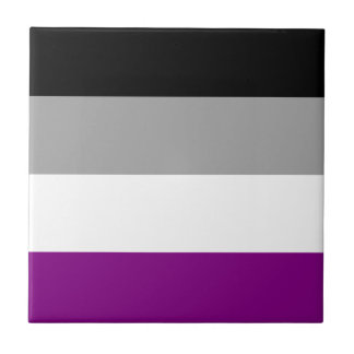 Asexual Pride Flag Tile