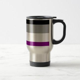 Asexual Pride Flag Travel Mug