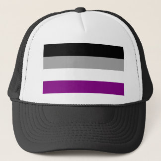 Asexual Pride Flag Trucker Hat