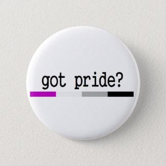 """Asexual Pride """"Got Pride?"""" keychain 2 Inch Round Button"""