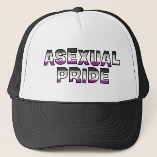 Asexual Pride Trucker Hat