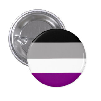 Asexuality 1 Inch Round Button
