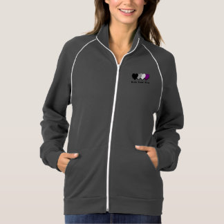 Asexuality pride hearts Jacket