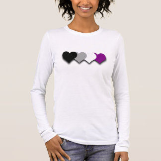 Asexuality pride hearts T-Shirt