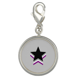 Asexuality pride stars charm
