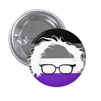 Asexuals for Bernie Sanders 1 Inch Round Button