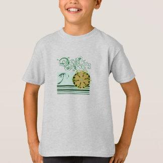 Ash-beach-surf-Tee-for-kids T-Shirt