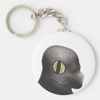 Ash Dragon Token Keychain