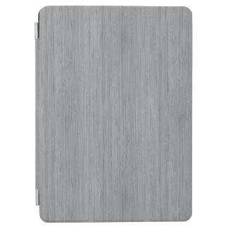Ash Gray Bamboo Wood Grain Look iPad Air Cover