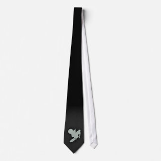 Ash Gray Motocross Tie