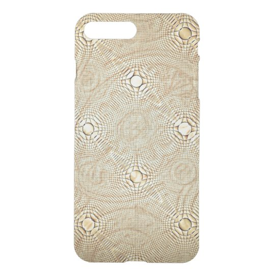 Ash on Linen Exquisite Pattern  iPhone Case