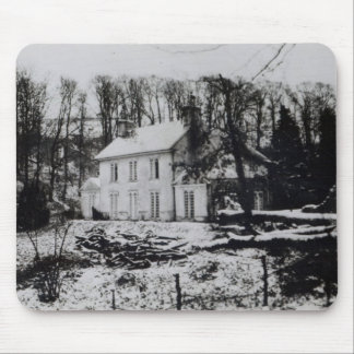Asham House near Beddingham in East Sussex Mouse Pad