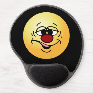 Ashamed Smiley Face Grumpey Gel Mouse Pad