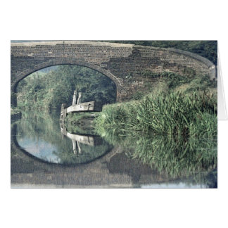 Ashby canal note card notelet