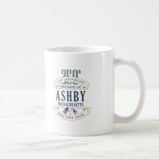 Ashby, Massachusetts 250th Anniversary Mug