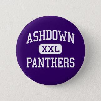 Ashdown - Panthers - High - Ashdown Arkansas 2 Inch Round Button