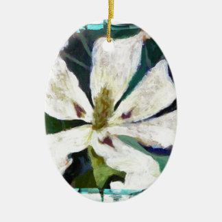 Ashe Magnolia image Ceramic Ornament