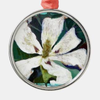 Ashe Magnolia image Metal Ornament