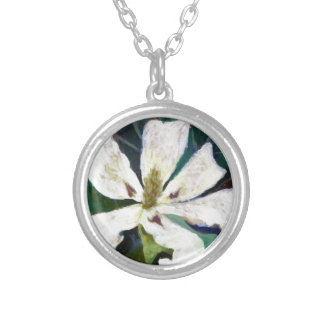 Ashe Magnolia image Silver Plated Necklace