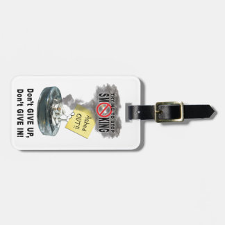 Ashed Out Luggage Tag