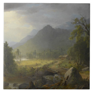 Asher Brown Durand - The First Harvest Tile
