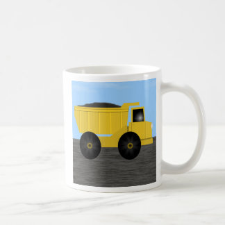 Asher Dump Truck Personalized Mug