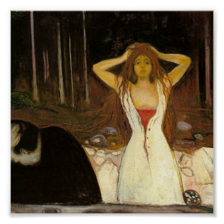 Ashes by Munch Print