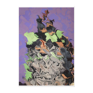 Ashes to ashes 822 aka Frenchette Dupont Marmos Canvas Print