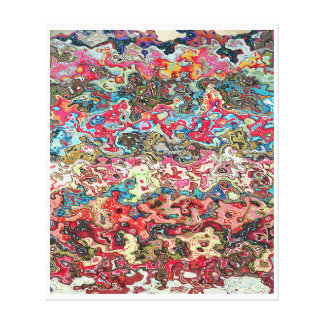 Ashes to ashes 873 aka Backstroke In The Riptide Canvas Print