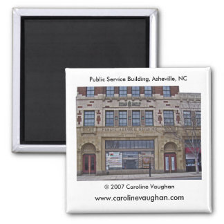 Asheville 1699, Public Service Building, Ashevi... Magnet