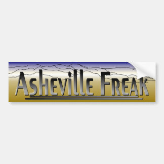 Asheville Freak BS.1 Bumper Sticker