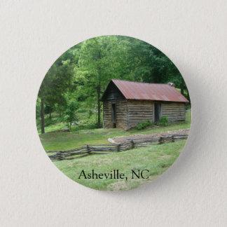 Asheville, North Carolina 2 Inch Round Button