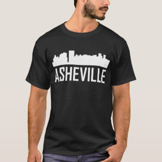 Asheville North Carolina City Skyline T-Shirt