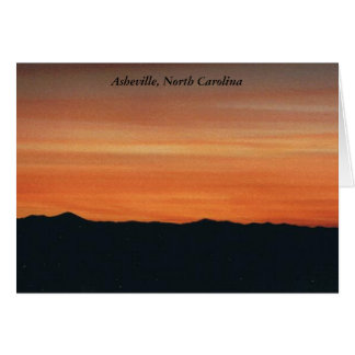 Asheville, North Carolina Note Card