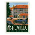 Asheville, North Carolina   Save the Date Postcard